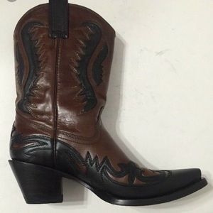 Corral Western Leather Boots Ladies 7 1/2